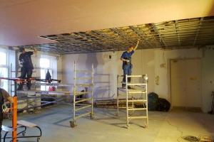 Linnaraamatukogu hoidla renoveerimistööd